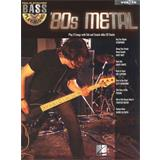Hal Leonard Bass Play Along Volume 16 80s Metal