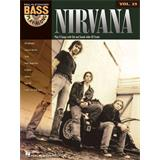 Hal Leonard Bass Play Along Volume 25 Nirvana