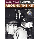 Hal Leonard Ted Mackenzie Buddy Rich Rudiments Around The Kit