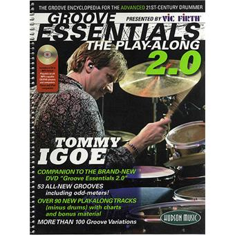 Hal Leonard Tommy Igoe Groove Essentials The Play Along 2 teaching method for drum/percussion