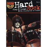 Hal Leonard Drum Play Along Volume 3 Hard Rock