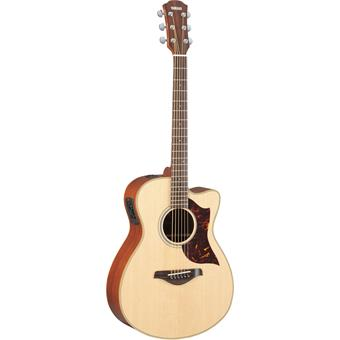 Yamaha AC1M acoustic-electric cutaway orchestra guitar