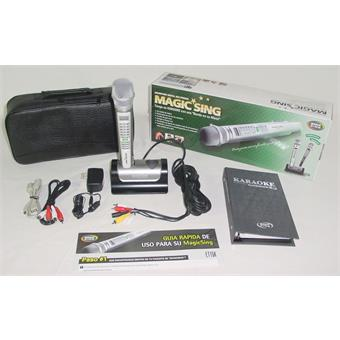 Magic Sing ET15K Karaoke Set draadloze handheld microfoon