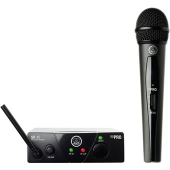 AKG WMS40 Mini Vocal Set ISM2 draadloze handheld microfoon
