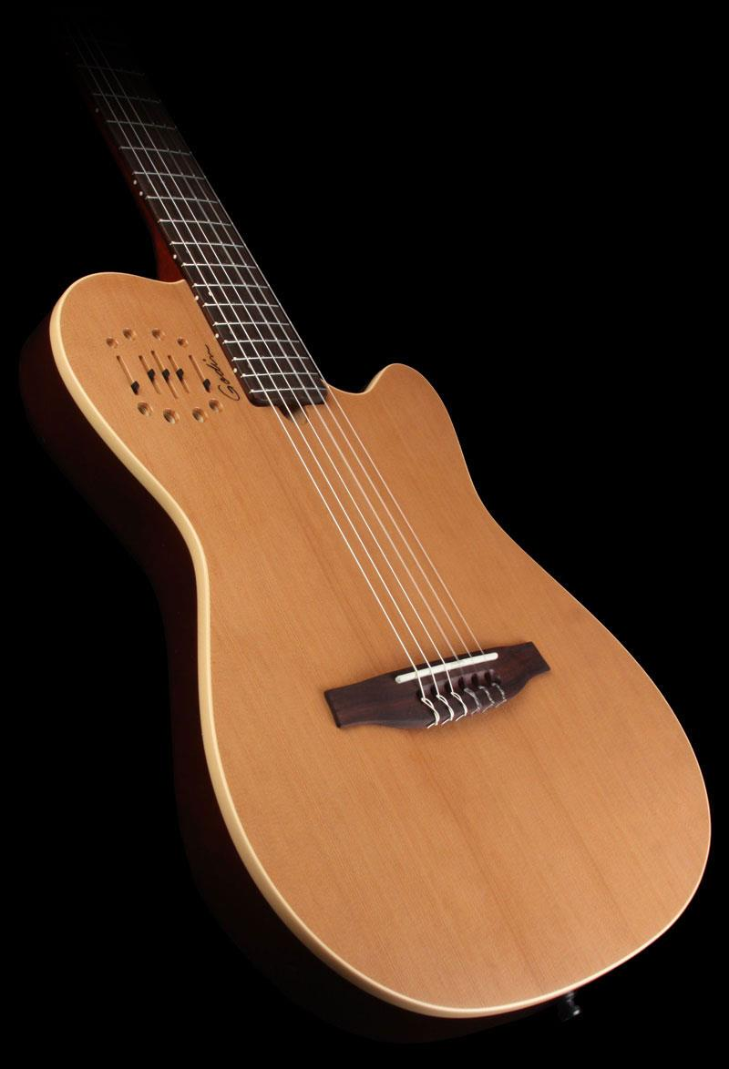 Godin Multiac Nylon Encore Natural Keymusic Gitar String By Provit Musik Slm Classical Guitar With Electronics