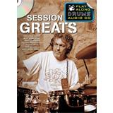 Hal Leonard Play Along Drums Session Greats
