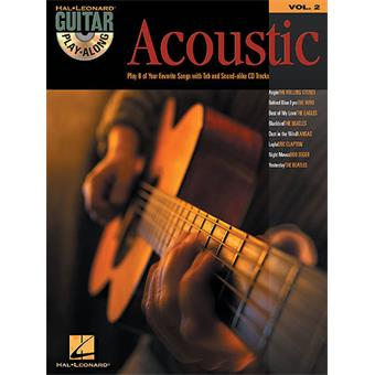 Hal Leonard Guitar Play Along Volume 2 Acoustic tablature guitare acoustique