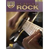 Hal Leonard Guitar Play Along Volume 18 Acoustic Rock