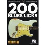 Hal Leonard Guitar Licks Goldmine 200 Blues Licks