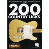 Hal Leonard Guitar Licks Goldmine 200 Country Licks