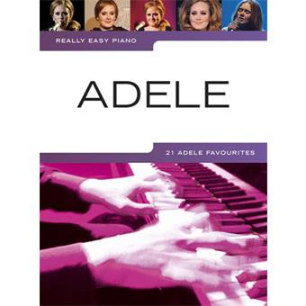 Hal Leonard Really Easy Piano Adele song book