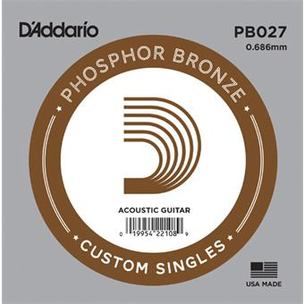 D'Addario PB 027 single string for acoustic guitar