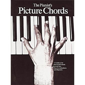 Hal Leonard The Pianists Picture Chords méthode instrument