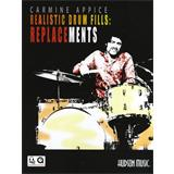 Hal Leonard Carmine Appice Realistic Drum Fills Replacements
