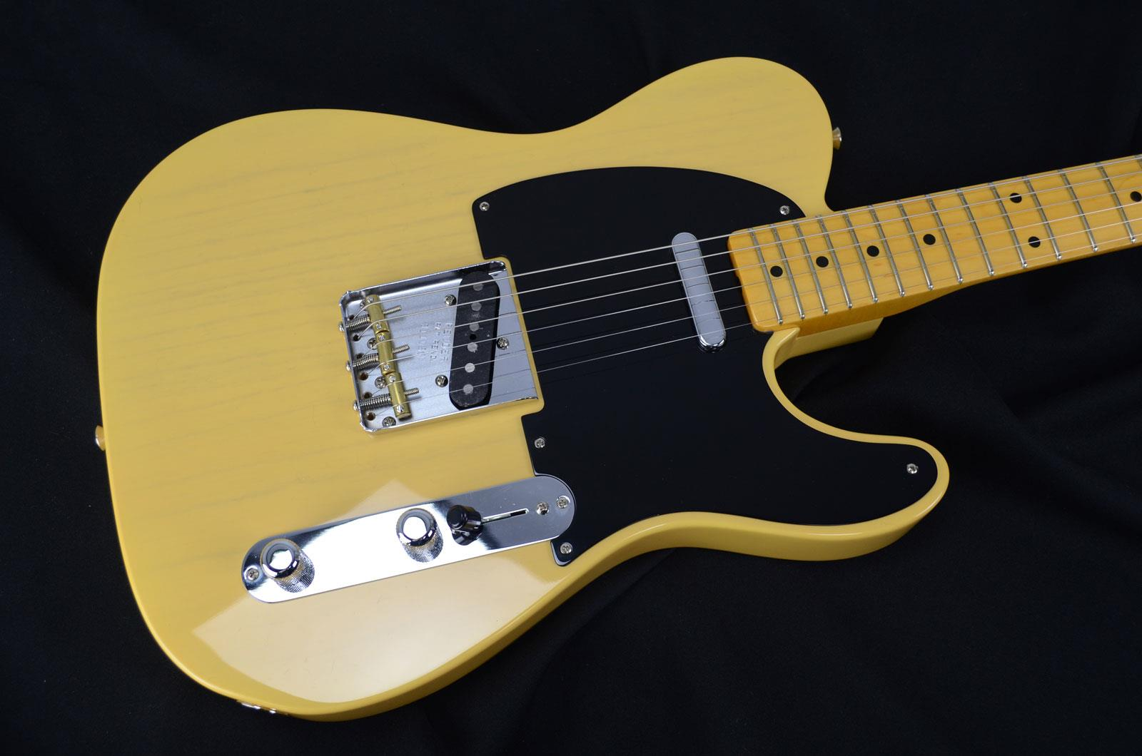 Easy Wiring For Telecaster Guide And Troubleshooting Of Nocaster Diagram Fender Custom Shop 52 Nos A Flame Blonde Keymusic Guitar Schematic