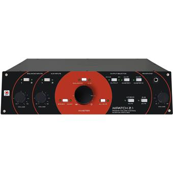 SM Pro Audio M-Patch2.1 Passive Monitor Controller accessoire voor studiomonitor