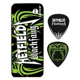 Dunlop Pick Tin Hetfield Black Fang 6-Pack 0.94mm