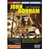 Hal Leonard Lick Library Drum Legends John Bonham Techniques