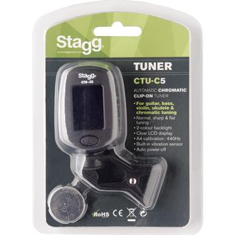 Stagg CTU C5 Clip-on Stimmgerat