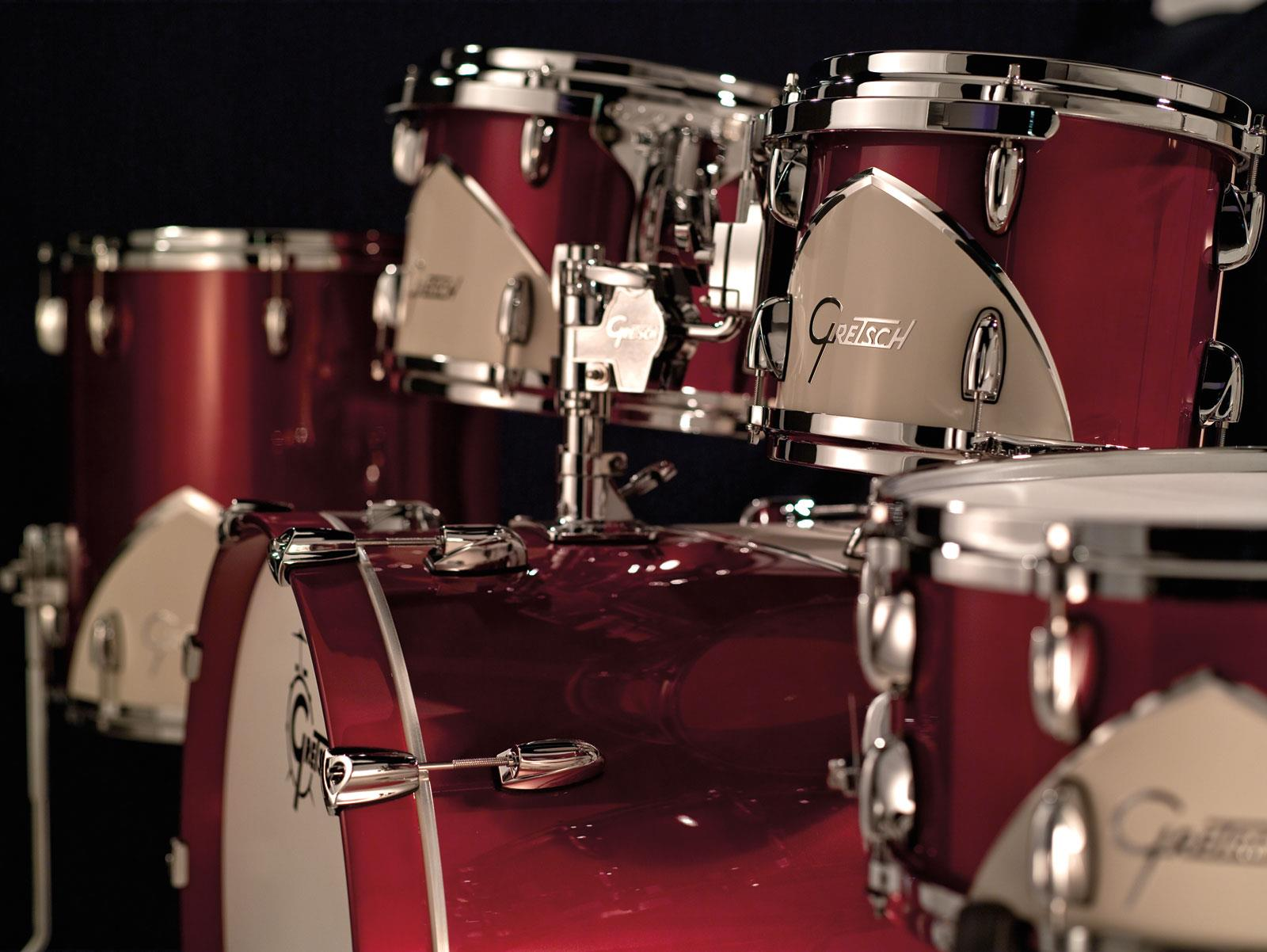 gretsch drums renown 57 motor city red keymusic. Black Bedroom Furniture Sets. Home Design Ideas