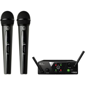 AKG WMS40 Mini2 Vocal Set Drahtlose Handheld Mikrofon