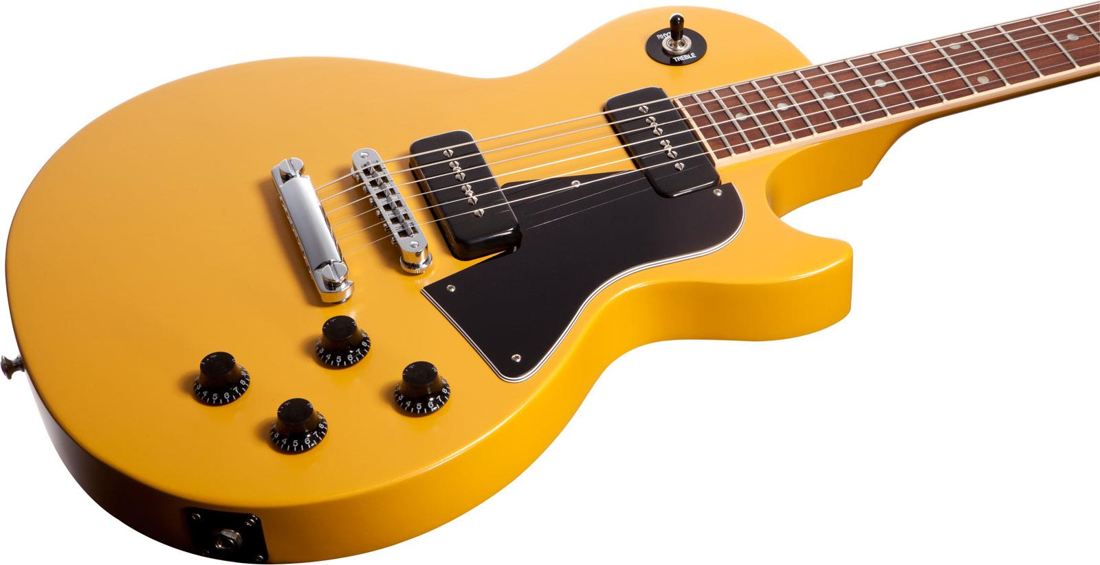 gibson les paul junior special p90 satin yellow keymusic. Black Bedroom Furniture Sets. Home Design Ideas