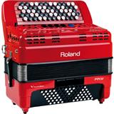 Roland FR-1XB Accordion Red