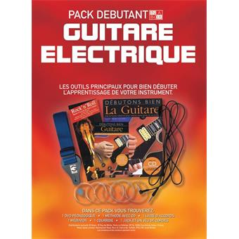 Hal Leonard In A Box Pack Débutant Guitare Electrique teaching method for electric guitar