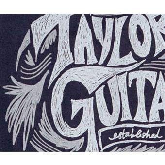 Taylor Ware Sketch T Shirt Navy M guitar merchandise/collectible