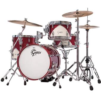 Gretsch Drums Renown 57 J484 Motor City Red acoustic drum kit