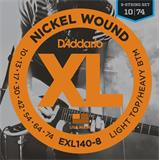 D'Addario EXL140-8 Light Top Heavy Bottom 8-String
