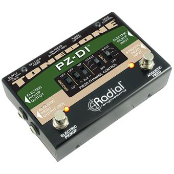 Radial Tonebone PZ-DI routing/switching pedaal