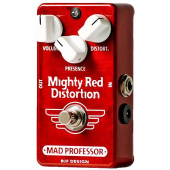 Mad Professor Mighty Red Distortion metal distortion pedal