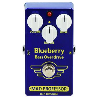 Mad Professor Blueberry Bass Overdrive bas distortion/fuzz/overdrive pedaal
