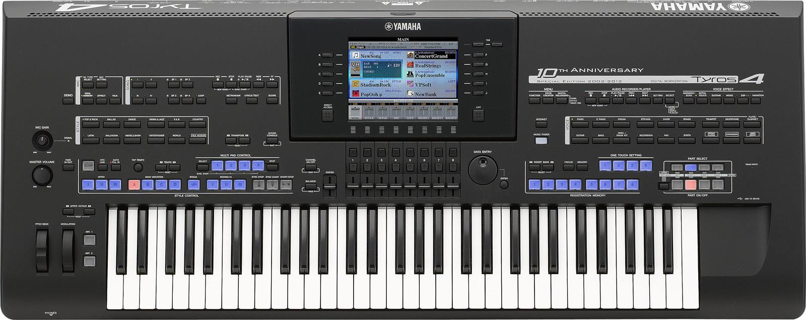 Yamaha Tyros 4 Midi Files - ondemanderogon