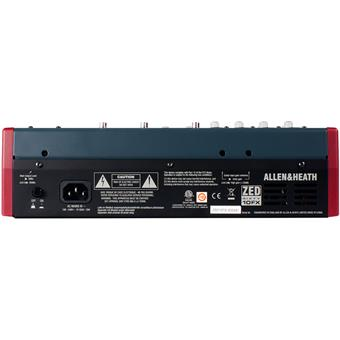 Allen & Heath ZED60-10FX analog mixer