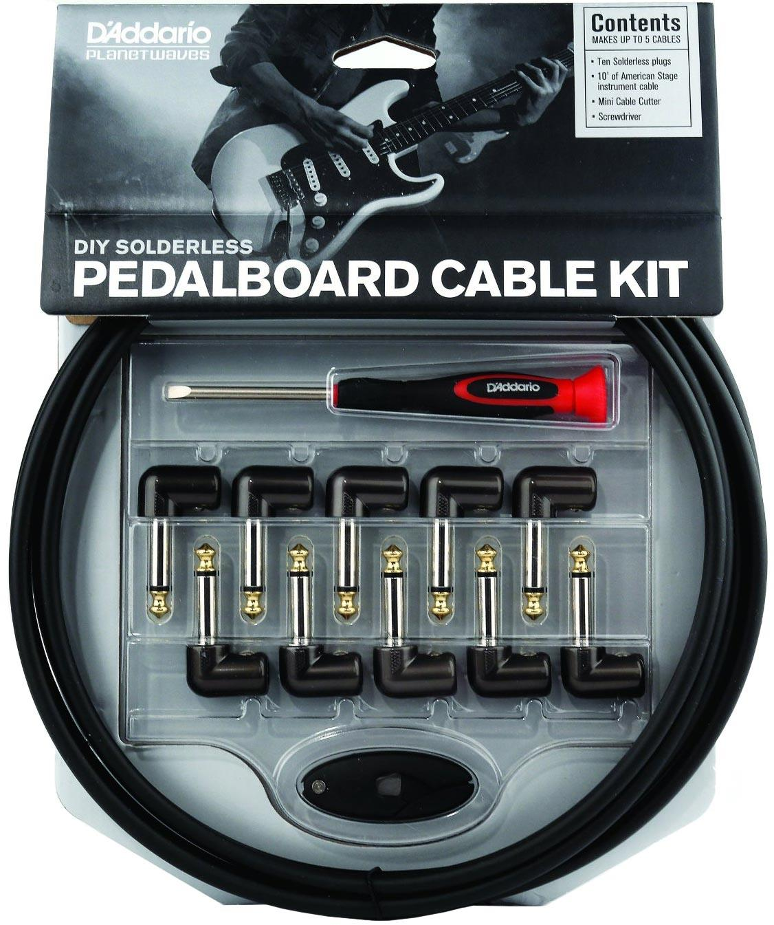 Planet Waves Gpkit 10 Diy Solderless Pedalboard Cable Kit