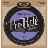 D'Addario EXP44 Coated Classical Guitar Extra-Hard Tension