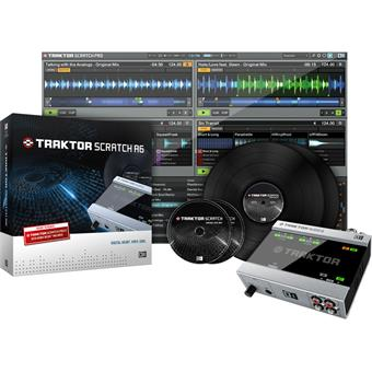 Native Instruments Traktor Scratch A6 dj-software