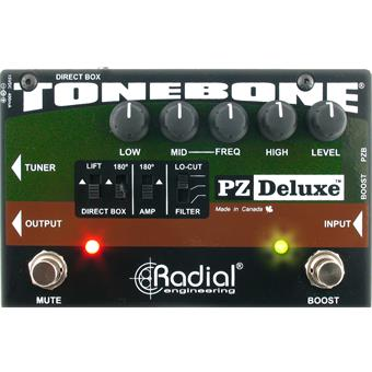 Radial Tonebone PZ Deluxe effect for acoustic guitar