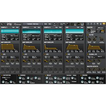 Izotope Iris 2 virtueel instrument/sampler