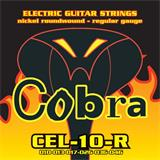 Cobra CEL-10-R Electric guitar strings - nickel roundwound - regular gauge