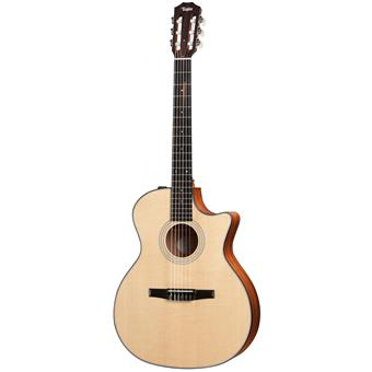 Taylor 314ce Nylon classical guitar with electronics