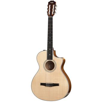 Taylor 412ce Nylon classical guitar with electronics