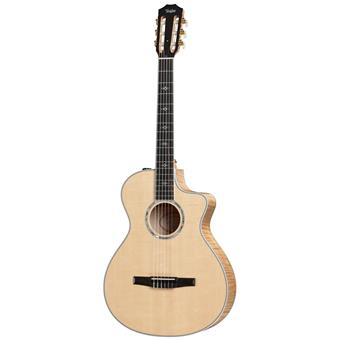 Taylor 612ce Nylon classical guitar with electronics
