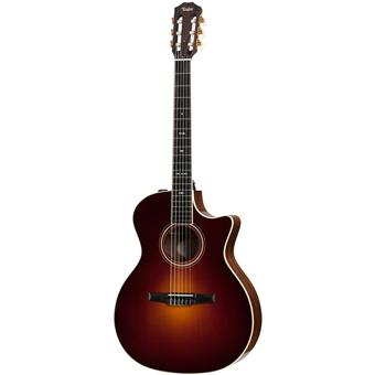 Taylor 714ce Nylon Vintage Sunburst classical guitar with electronics