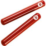 Meinl CL7R Fiberglass Claves Red