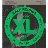 D'Addario ENR70 Half Rounds Bass Super Light 40-95