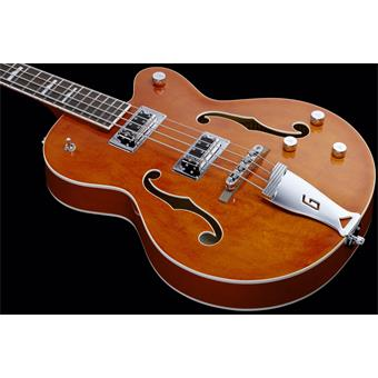 Gretsch G5440LSB Electromatic Long Scale Bass Orange 4 string bass guitar