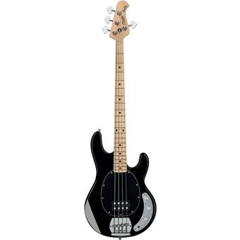 Sterling Stingray Ray4 Black 4 string bass guitar